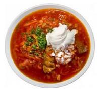 борщ, первое блюдо, украинский борщ