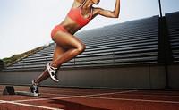 бег на короткие дистанции, спринтерский бег
